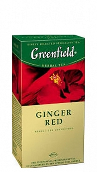 GREENFIELD Ginger Red (25 х 2 г)