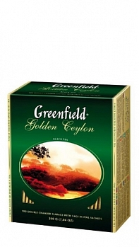 GREENFIELD Golden Ceylon, пакет в конверте (100 х 1,5г)