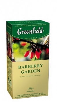 GREENFIELD Barberry Garden пакет в конверте (25пак.х1,5г)